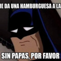 Hamburguesa a la batman
