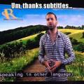 La importancia de buenos subtitulos