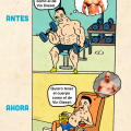 La inspiracion de Vin Diesel antes y ahora