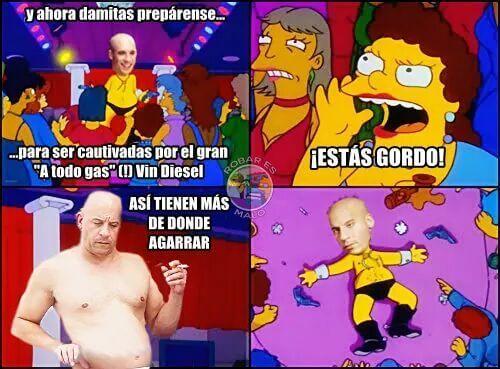 La nueva imagen de Vin Diesel