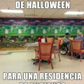 La peor decoracion de halloween
