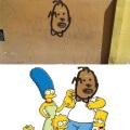 La posible nueva imagen de Homero Simpsons