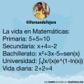 La vida en matematicas