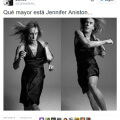 Que mayor se ha puesto jennifer aniston