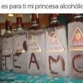 la princesa alcoholica