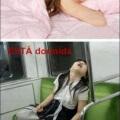 Como duermen las mujeres