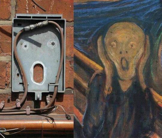 El arte puede ser encontrado en cualquier lugar