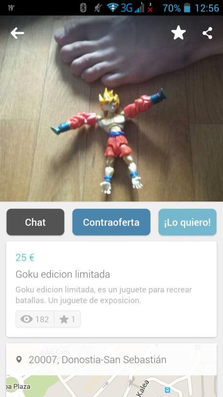 El nuevo Goku edicion limitada