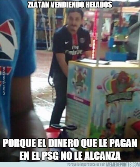 El nuevo trabajo de Zlatan