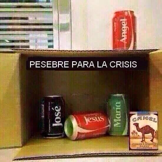 La crisis llego a mi hogar en navidad