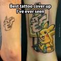 La mejor manera de arreglar un mal tatuaje