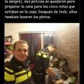 Los policias en holanda son muy diferente al de otros paises