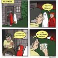 Mi abuelo en Halloween