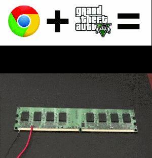 Que pasa cuando abres GTA V y Google Chrome