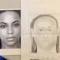 Aprendiendo a dibujar a Beyonce