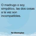 Cosas incompatibles