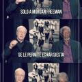 Cosas que solo pueden hacer Morgan Freeman