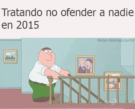 En el 2015 todo ofende a todos