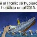 La desgracia del titanic en el 2015