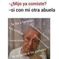 Las abuelas son celosas con otras abuela