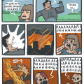 Las aventuras del hombre apocalipsis