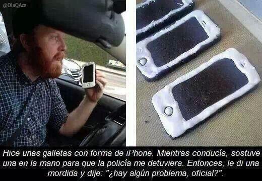 Las galletas de Iphone