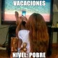 Las vacaciones de los pobres
