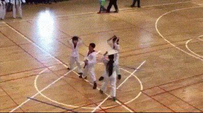 Los peores alumnos de Karate