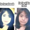 Los sorprendentes efectos de las fotos de Faebook
