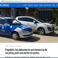 Mientras tanto la policia de Argentina
