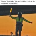 Un subnormal fanatico de star wars