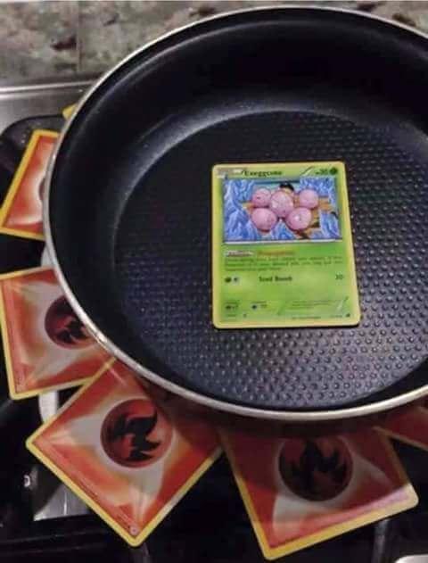 Cuando tines hambre pero eres fanatico de Pokemon