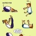 Cuando vaz por primera vez a una clase de yoga