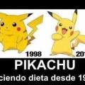 El increible cambio de Pikachu