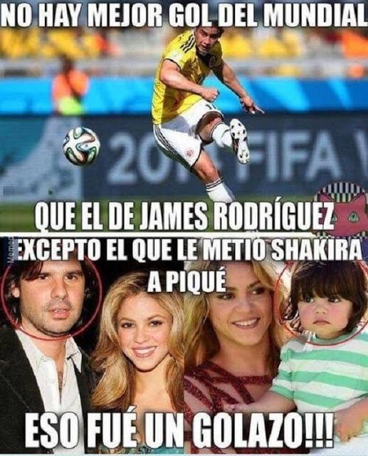 El mejor gol de Shakira