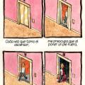 El miedo de usar ascensores