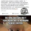 El niño que era Einstein