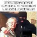 El robar a las abuelitas no es tan sencillo