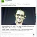 La triste realidad de Edward Snowden