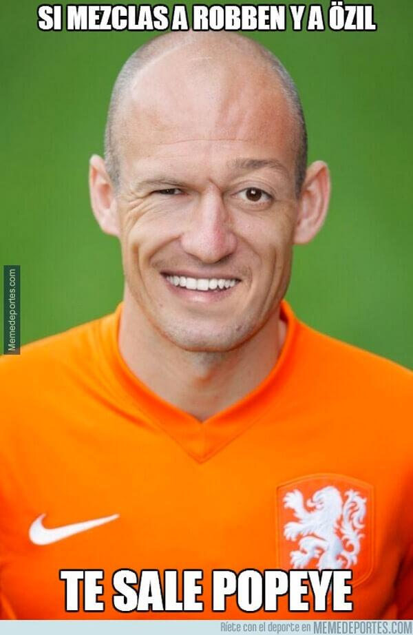Que sale de la combinacion de Ozil y Robben