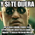 Te dire un gran secreto de Chrome