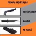 Armas mas mortales