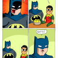 Batman eres tan geanial