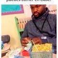 Cuando no te dejan comer en clases
