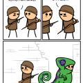 El soldado capaz de camuflarse como camaleon