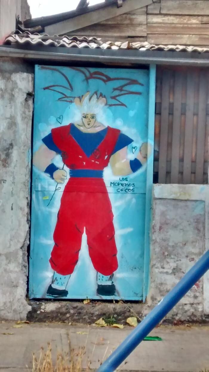Goku el hermoso