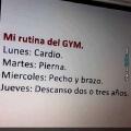 La mejor rutina del Gym