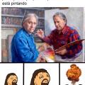 La pintura mas extraña del mundo