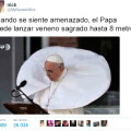 Las medidas de defensa del Papa