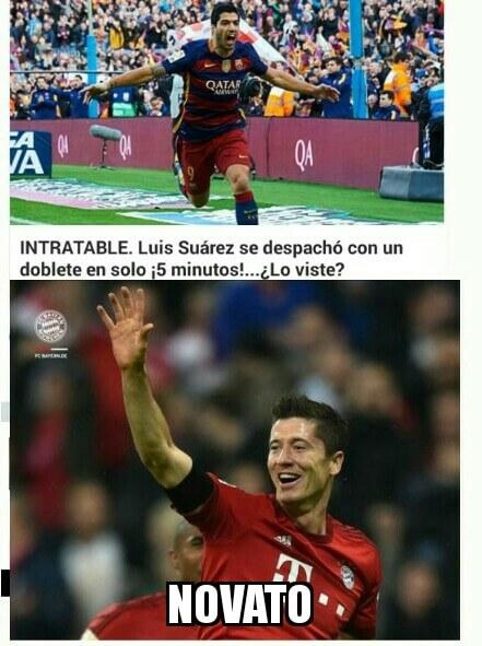 Luis Suarez es un novato